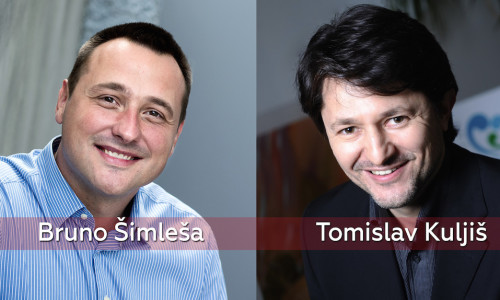 Bruno Šimleša i Tomislav Kuljiš